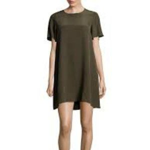 Leo & Sage Classic Shift Dress in Green Size Small